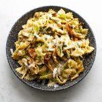 Caramelised Mushroom Fennel Pasta