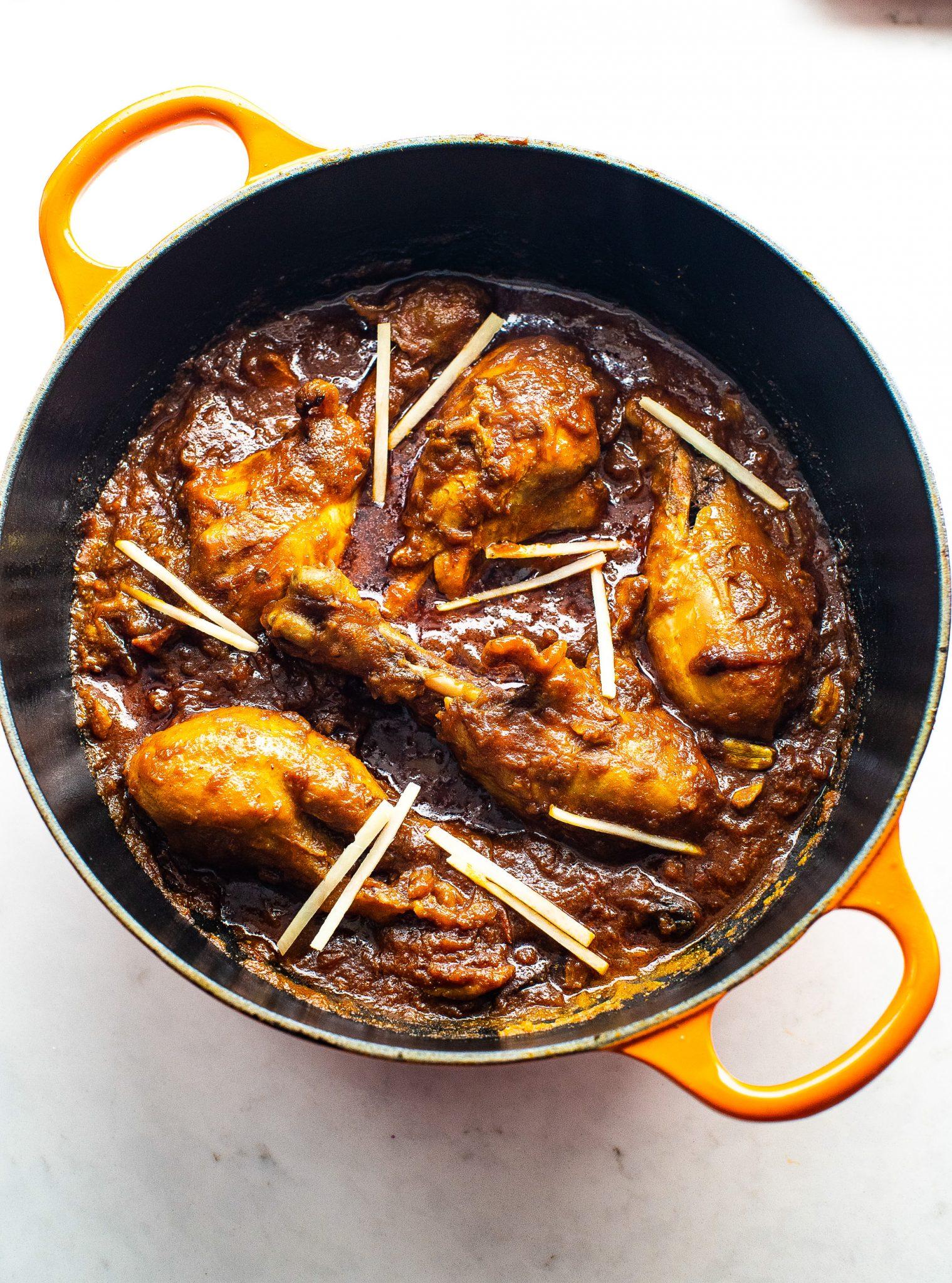 Indian Handi Murgh Chicken Curry