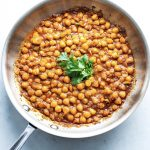 Easy Vegan Chickpea Chana Masala