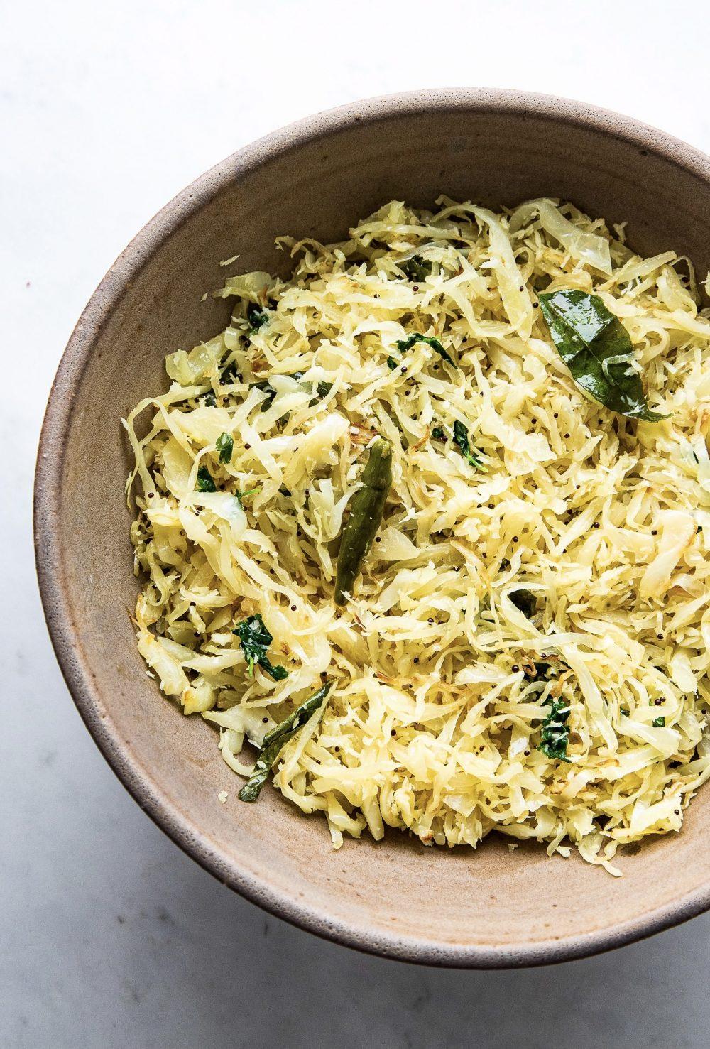 Goan Cabbage Foogath Bhaji